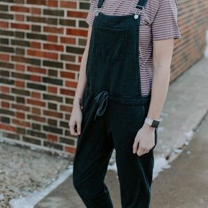 French Terry overalls